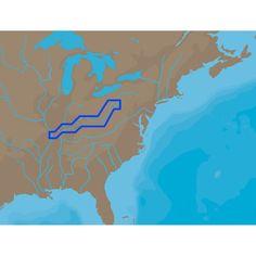 C-MAP NT+ NA-C039 - Ohio River Cairo Pittsburgh - Furuno FP-Card