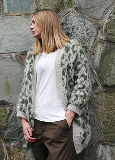 This knitted leopard coat is quite possibly the coolest ever, if we do say so ourselves. It's a bit of a job to knit it, but oh, so worth it in the end! Leopard Coat, Pickles, Knitting Patterns, Bomber Jacket, Manga, Jackets, Madness, Night, Fashion