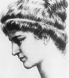 """Hypatia of Alexandria was the """"pre‰minent mathematician, astronomer, and philosopher of her time,"""" which was about 400 in ancient Egypt. Description from ourherald.com. I searched for this on bing.com/images"""