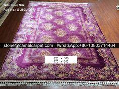 260L silk on silk carpet #carpet#rug#persiancarpet#persianrug