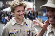 Boy Scouts Collect and Auction Elk Antlers   ElkFest Jackson Hole, Wyoming