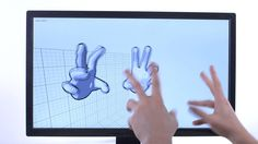 Leap Motion V2 Tracking Developer Beta - Demo