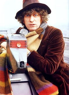The Doctor (Tom Baker) and K-9. I think K-9 is the reason I wanted a dog. And a robot.