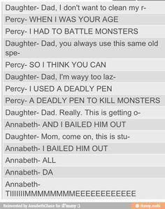 I want a wife like Annabeth<<<I am gonna be a wife like Annabeth