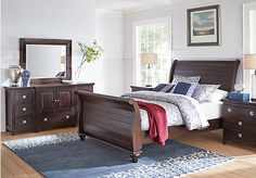 Summer Grove Espresso 5 Pc King Sleigh Bedroom. $1,555.00.  Find affordable Bedroom Sets for your home that will complement the rest of your furniture.