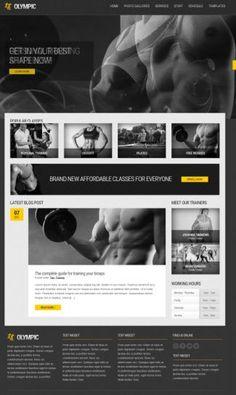 Olympic Fitness WordPress Theme : CSSIgniter Review