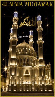 Beautiful Night Images, Beautiful Art Pictures, Beautiful Photos Of Nature, Cute Love Pictures, Islamic Wallpaper Hd, Mecca Wallpaper, Allah Wallpaper, Images Jumma Mubarak, Jumma Mubarak Beautiful Images
