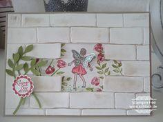 stampin fairy celebrations wall einfach zauberhaft fee elfe