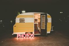 Our Canned Ham vintage camper is now a rolling photo booth for our weddings! Ethel's First Oklahoma Wedding! | Oklahoma Photo Booth – Canned Ham Photos