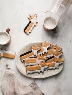 Corgi Chai Cookies! So cute!//