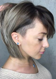 Moderne undercut frisuren damen