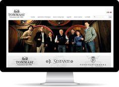 Il sito web realizzato per Tommasi Viticoltori esalta nella grafica l'immagine dell'azienda: familiare e al tempo stesso ricercata.   Clicca e scopri tutti i loro fantastici vini  http://www.tommasiwine.it/