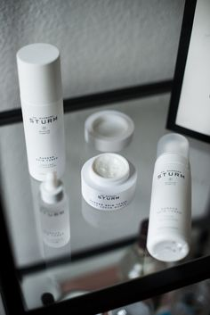 beauty products dr. barbara sturm face cream for darker skin tones with toner and serum theadorabletwo