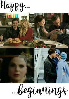 "Happy Beginnings! 5x21 5x22 ""The Final Battle"" #OutlawQueen #CaptainSwan #Snowing #Rumbelle #OnceUponATime #ONCE #ouat"