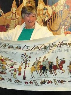 The Bayeux Tapestry gets an ending. Kate Russell with the Alderney Bayeux Tapestry