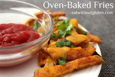 Eat Without Gluten: Crispy Oven-baked Fries