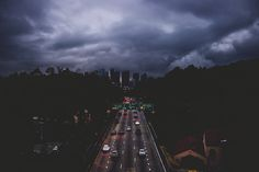Clouds on LA