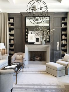 Study by Robert Brown Interior Design at the Atlanta Southeastern Showhouse