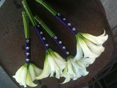 Mini Calla Bridesmaid Bouquets