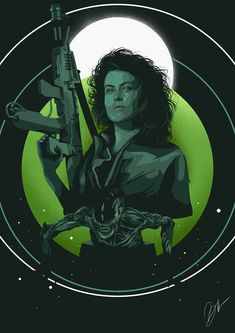 Film Heroines: Lieutenant First Class Ellen Louise Ripley by Ruben Caballero Scary Movies, Horror Movies, Horror Art, Ellen Ripley, Alien Drawings, Pencil Drawings, What Is Human, Alien 1979, Alien Isolation