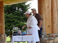 Arlington Farmers' Market, chef demo. Legion Park, Arlington Washington, Farmers Market, Marketing