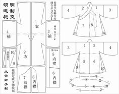 Most of the way down is a good pattern for hanfu.