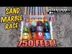 Which marble will win the Longest Sand Marble Run Ever? | The Kid Should See This