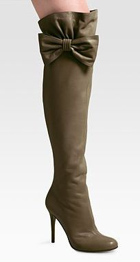 Valentino over the knee boots