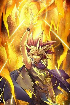 The legendary Pharaoh atem/Yami