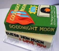 Children's books cake (Via 30 Gorgeous and Delicious Literary Cakes, on Flavorwire)