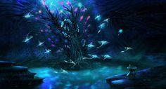 ArtStation - -Lost River: Ghost Tree- Subnautica Concept, Pat Presley