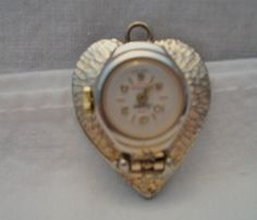 Vintage Lucerne heart watch pendant by ALEXLITTLETHINGS on Etsy, $25.00
