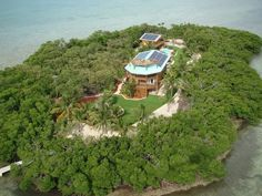 Place a Bid on This Green Private Island With Rockstar Cred - Private Islands - Curbed National
