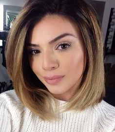 Ombre Hair Color for Short Hair 2015