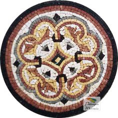 MD016 Marble Mosaic Medallion