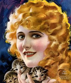 Mary Pickord by Rolf Armstrong