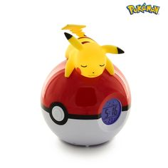 Pikachu Luminous Alarm Clock with FM Radio Pokemon Z, Pokemon Room, Pikachu, Radios, Party Cartoon, Bandai Namco Entertainment, Boys Fancy Dress, Ball Lights