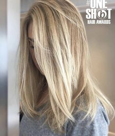 Summer Hairstyles : Brunette Balayage & Hair Highlights Picture Description Try this looks. Summer Hairstyles, Cool Hairstyles, Formal Hairstyles, Long Blonde Hairstyles, Straight Hairstyles, Wedding Hairstyles, Hair Color For Women, Shades Of Blonde, Great Hair