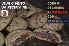 Cookie Recheado De Nutella com Milka Oreo! Corre lá pra ver a receita e o preparo ==> bit.ly/Eduardo_Sachs Se inscrevam no meu canal do YouTube e compartilhem a receita!!!