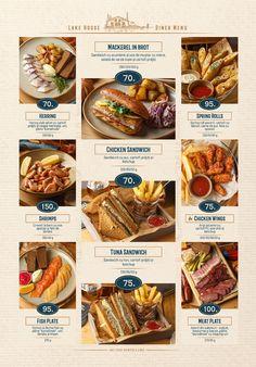Diner Menu, Menu Restaurant, Digital Menu, Food Menu Design, Text Layout, Advertising Design, Social Media Design, Ketchup, Pot Roast