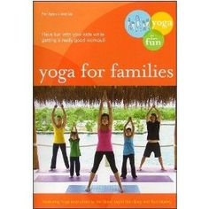 Yoga For Families:Connect With Your Kids DVD, (kids yoga, yoga for kids, yoga, fitness, dvd, yoga dvds, kids, kids health, educational dvd, educational)