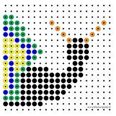 Kralenplanken om door meer kinde Diy Cards, Art Pictures, Pixel Art, Kids Rugs, Ceramics, Doors, Winter, Hama, Pearls