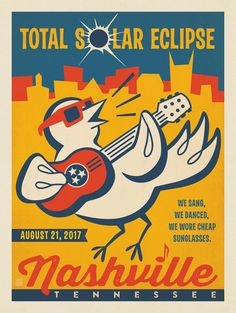 Anderson Design Group – Spirit of Nashville – 2017 Nashville Solar Eclipse: Songbird