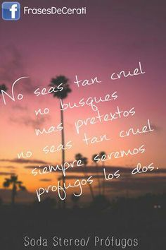 soda stereo Soda Stereo, Foster The People, The Last Shadow Puppets, Latin Music, Songs, Quotes, Lyrics, Wisdom, Texts