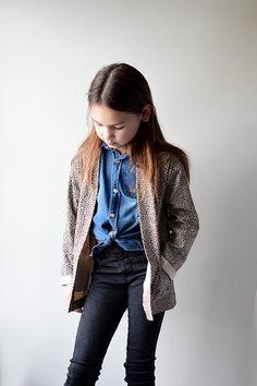 Nieuw patroontje van Iris May patterns Denim, Jackets, Fashion, Down Jackets, Moda, Fashion Styles, Fashion Illustrations, Jacket, Jeans
