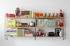kids' room shelving