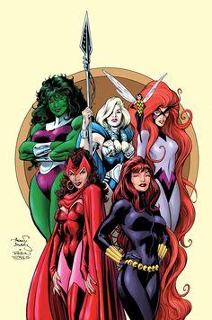 Marvel Women by Alan Davis & Robin Riggs