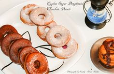 EGGLESS DOUGHNUTS RECIPE | SUGAR DONUTS | EGGLESS DONUT WITH CHOCOLATE GLAZE | GLAZED CHOCOLATE DOUGHNUTS