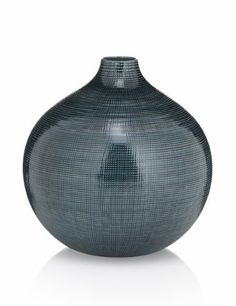 Ceramic Round Vase - Marks & Spencer