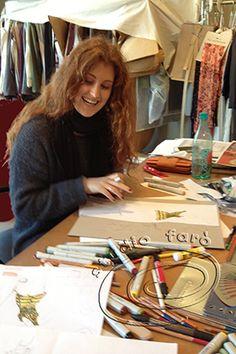 Cheyenne learning Fashion Illustration at Studio Faro.